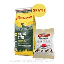 Josera YoungStar 2x15kg + Serrano snacks gratis