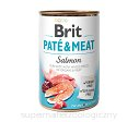 BRIT PATE & MEAT SALMON 6x800g