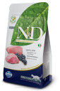 N&D Grain Free Lamb&Blueberry ADULT CAT 300g