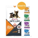 OPTI LIFE Puppy Sensitive All Breeds 12,5kg + FUNCTIONAL Snacks Gratis!