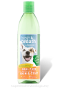 TROPICLEAN FRESH BREATH Skin and Coat 473ml - dodatek do wody na skóre i śierść kot/pies