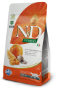 N&D PUMPKIN Herring & Oragne ADULT CAT 300g