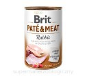 BRIT PATE & MEAT RABBIT 6x800g